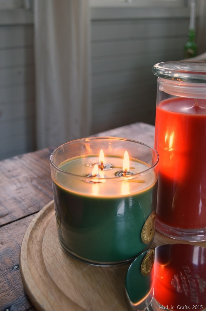 burning Fragrant Jjewels candles