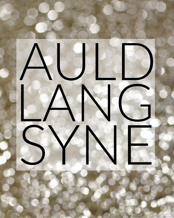 Auld Lang Syne Sans