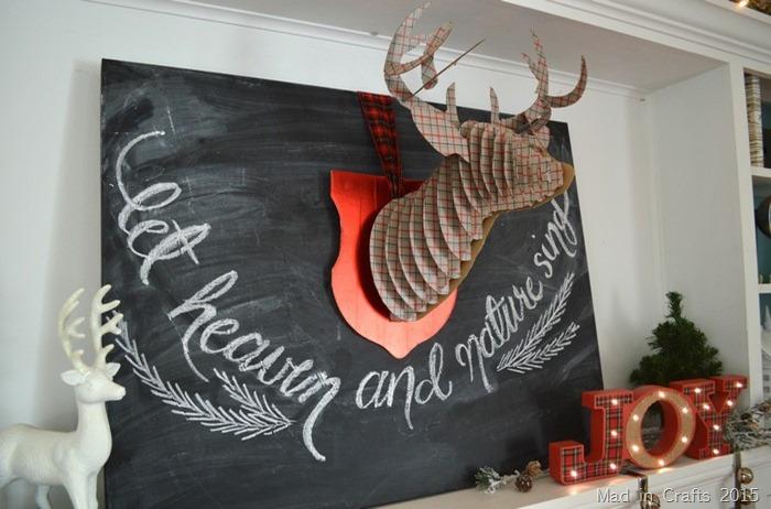 Cozy Christmas Chalkboard