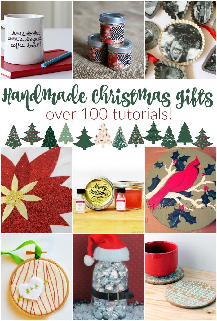 Over 100 Handmade Christmas Gift Ideas