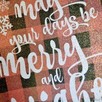 SPARKLY & PLAID CHRISTMAS PRINTABLES