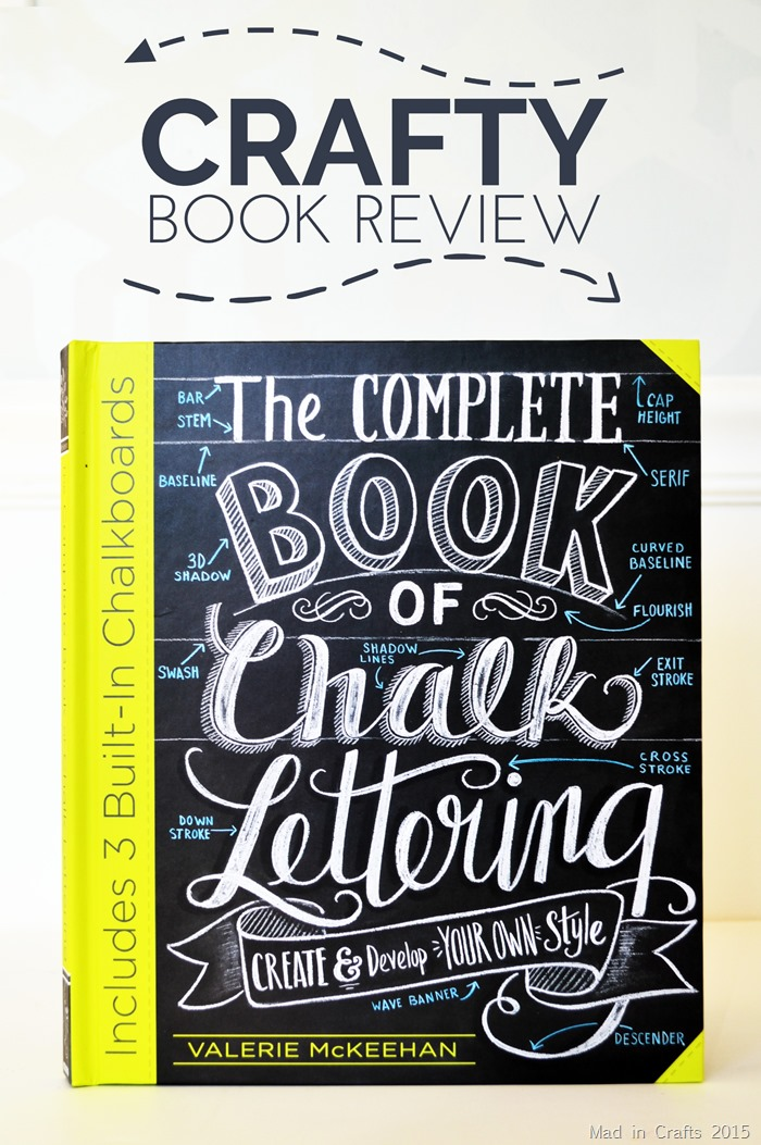 The Complete Book of Chalky Lettering Crafty Book Review