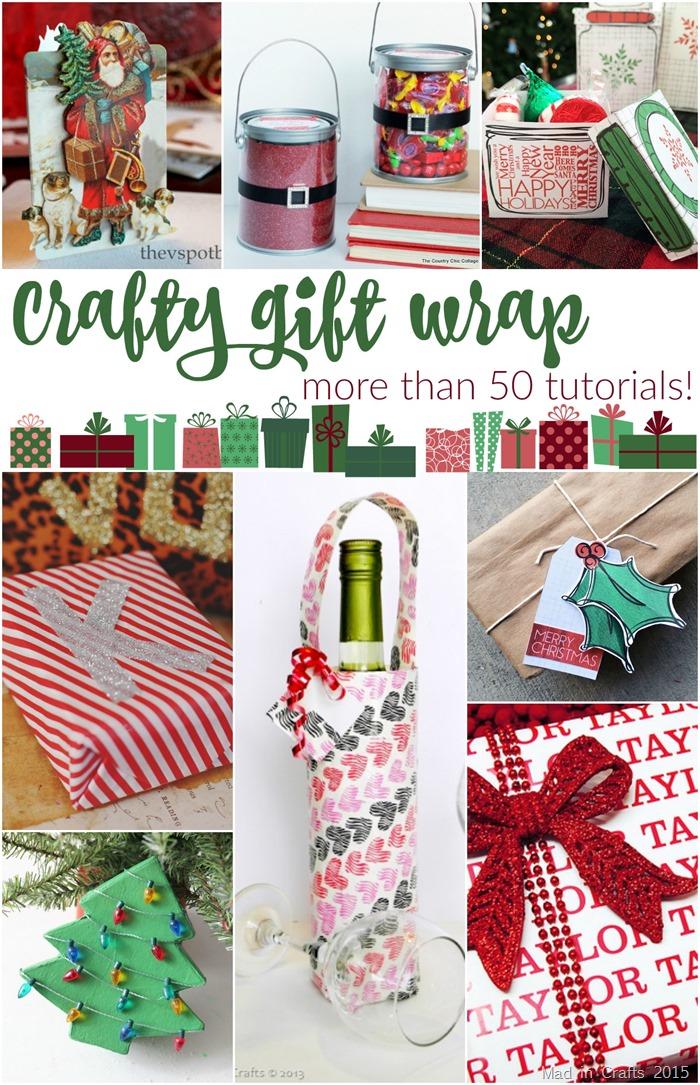 Tons of Handmade Gift Wrap Ideas!