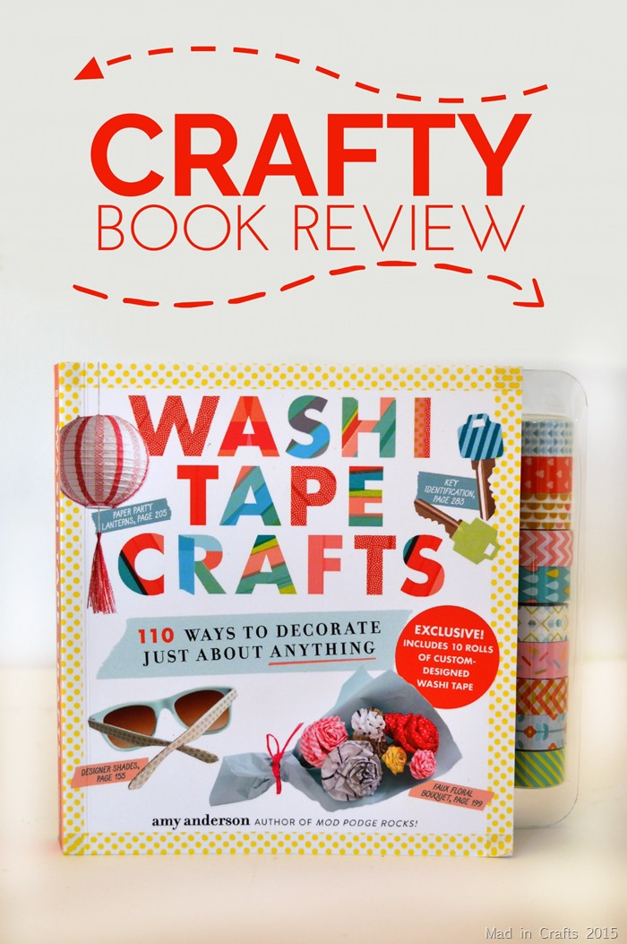 Washi Tape Crafts Crafty Book Review