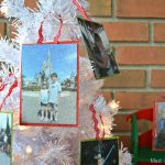 GLITTERY PHOTO ORNAMENTS