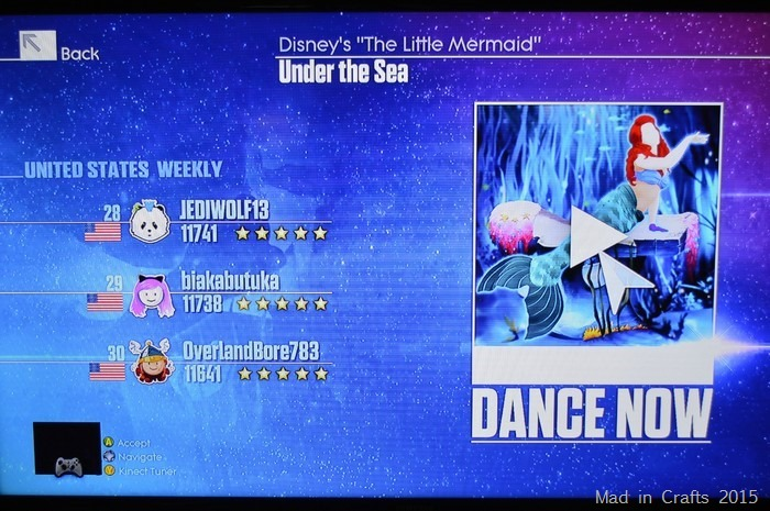 Just Dance Under the Sea