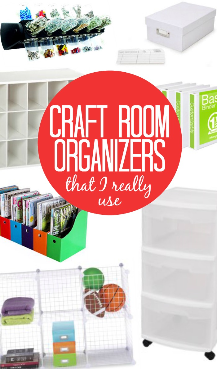 Craft Room Organizers That I Really Use
