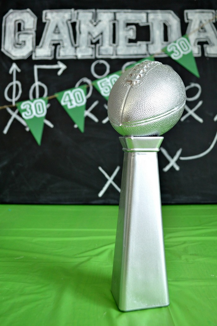 DIY Lombardi Trophy