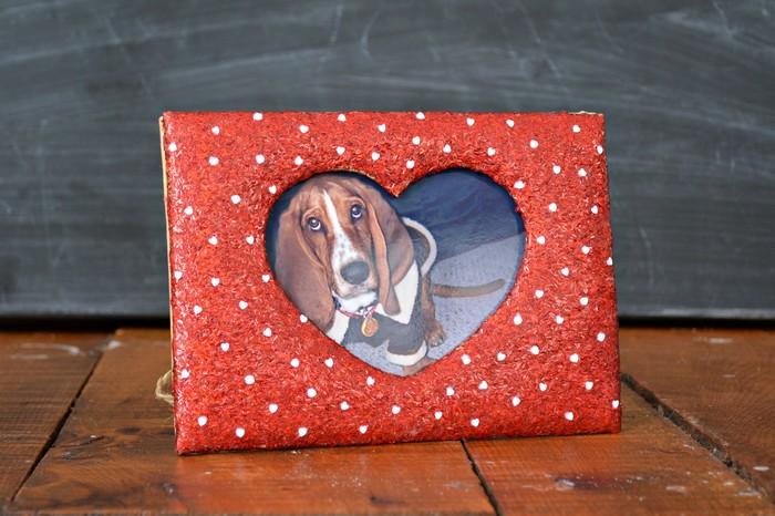 Glitter Valentines Frame