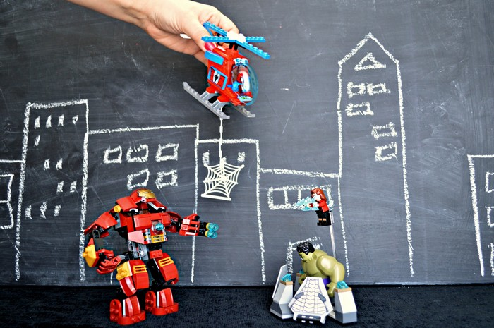Superhero Scene
