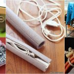 ORGANIZE YOUR ELECTRONICS WITH ONE TRIP TO THE DOLLAR STORE