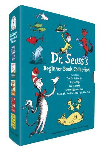 collection of Dr. Seuss books