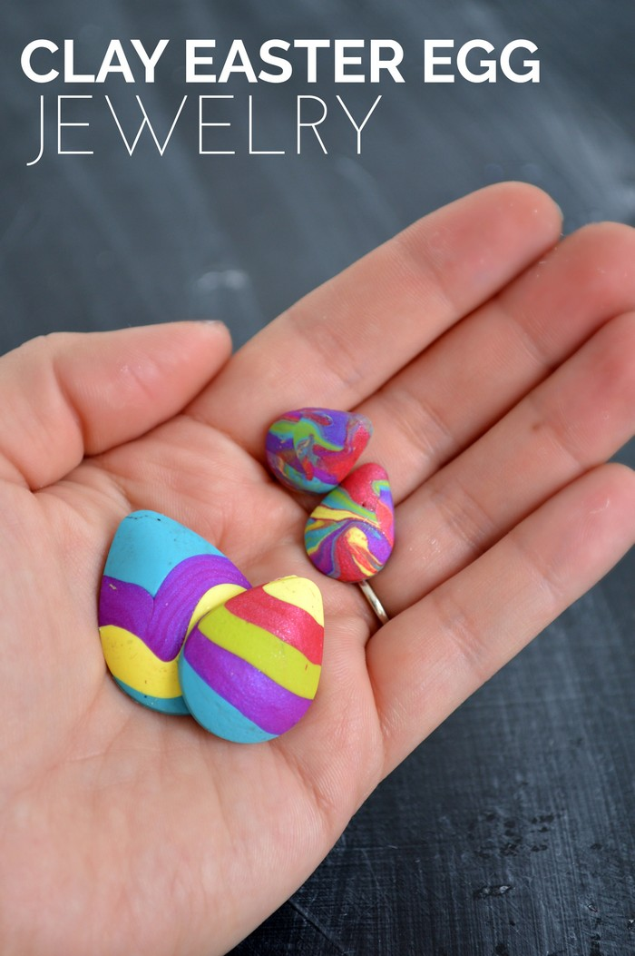 Clay Easter Egg Jewelry
