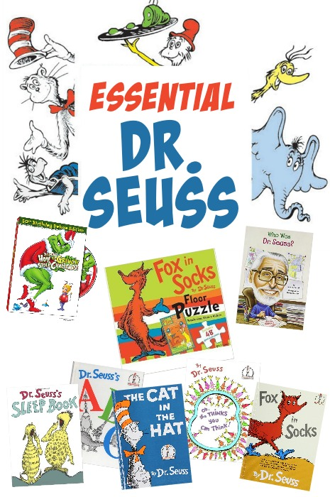 Essential Dr Seuss for kids