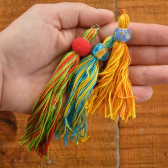 DIY BEADED TASSELS