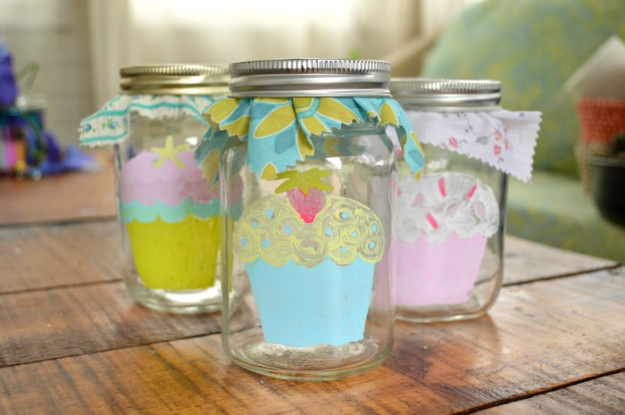 Coloring Page Mason Jars Home Decor Mad In Crafts