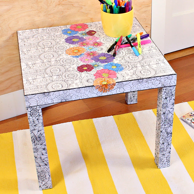 Put Those Coloring Pages To Use Round Ups Mad In Crafts