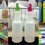 CLEANING HACKS USING DOLLAR STORE ITEMS