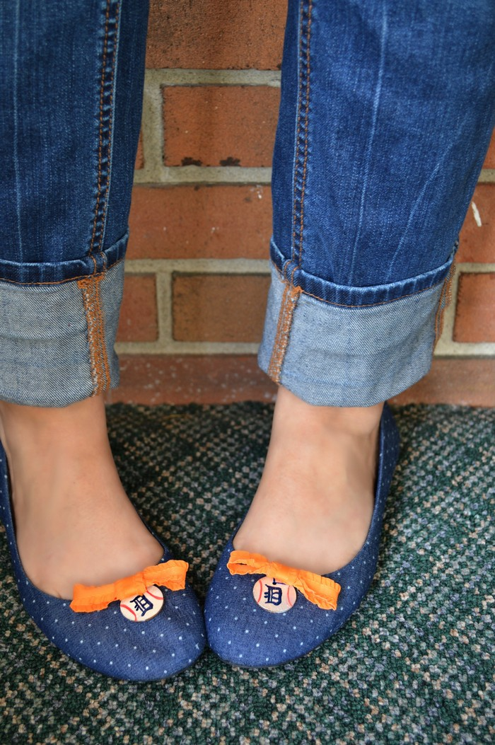 Embellished Tigers Flats