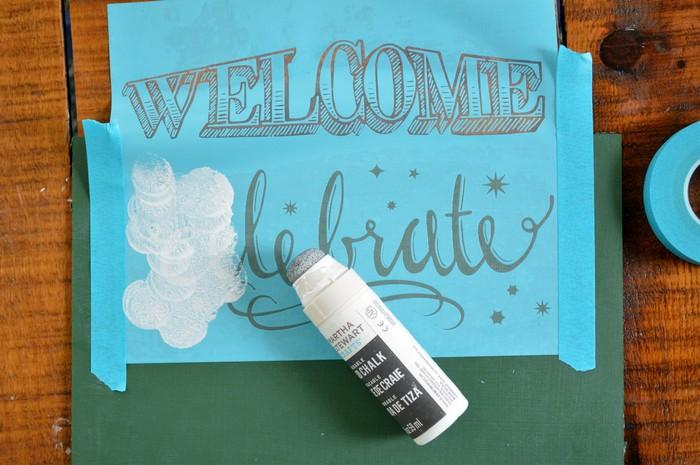 Martha Stewart Liquid Chalk