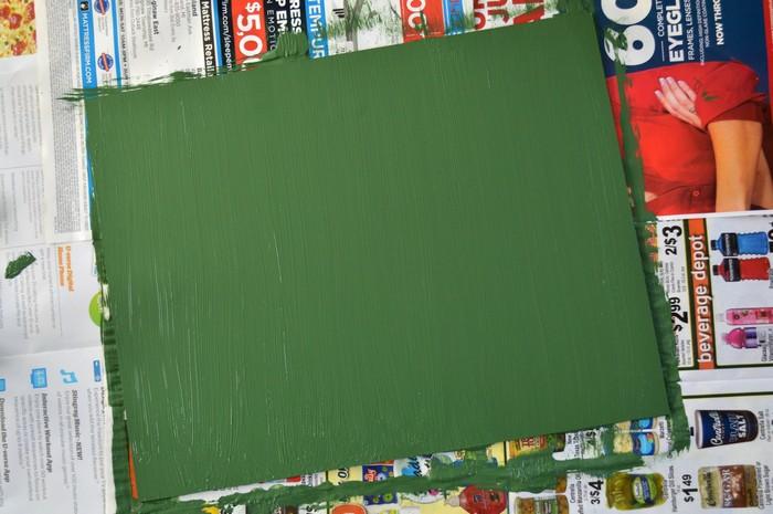 Painted Chalkboard