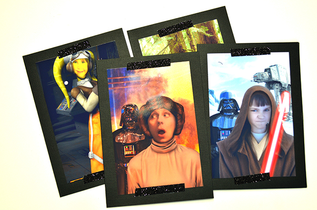 STAR WARS SELFIE THANK YOU CARDS