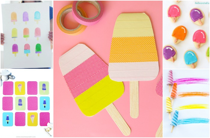 SUMMERY POPSICLE PROJECTS