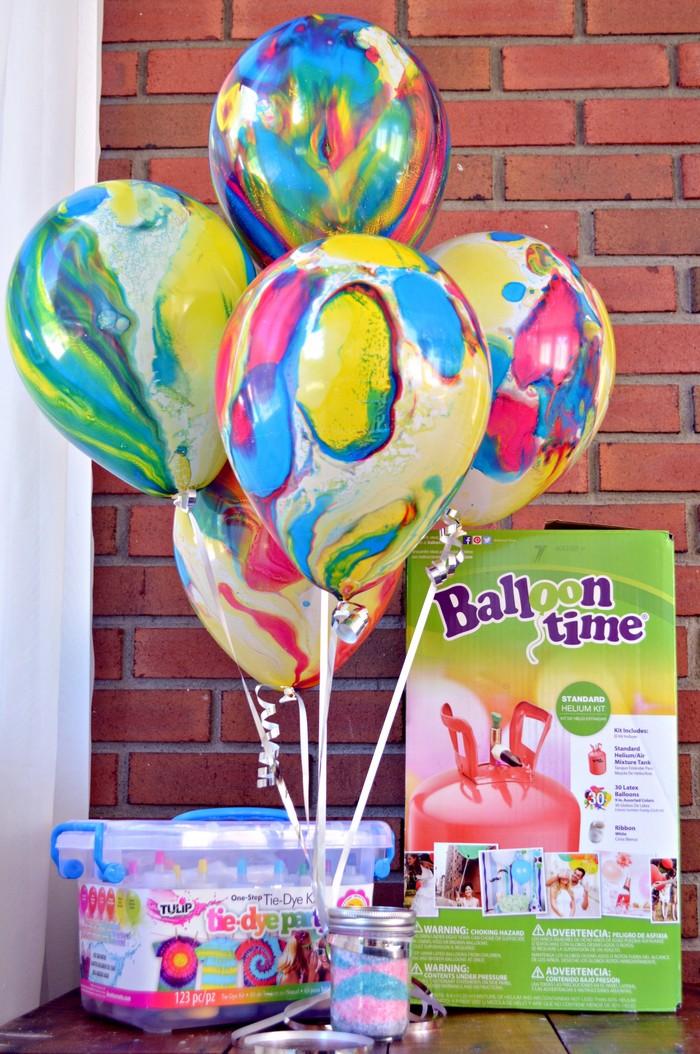 Balloon Time Tie Dye Surprise