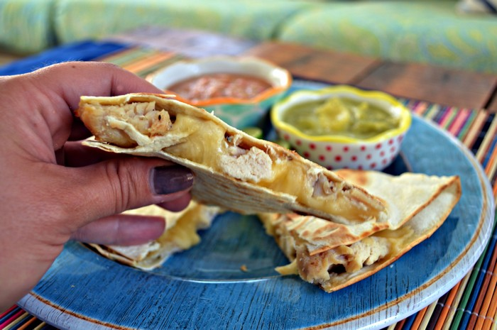 Super Stuffed Quesadillas
