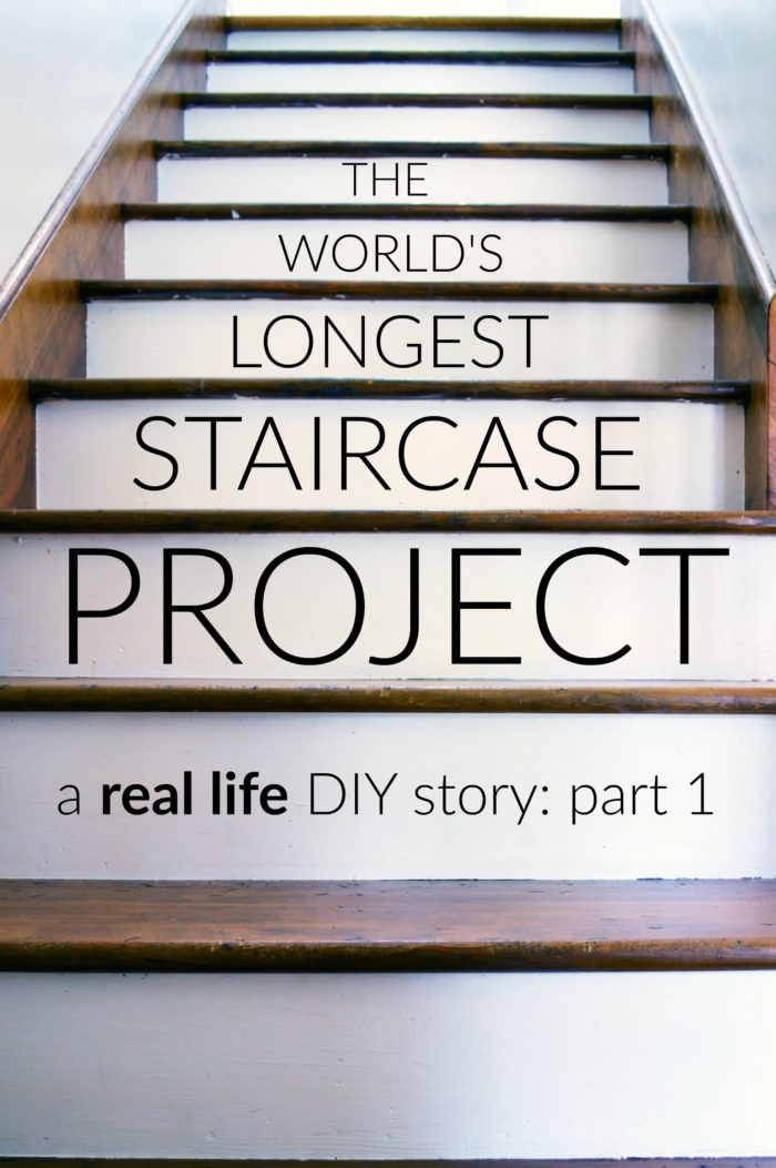 The World's Longest Staircase Project - part one