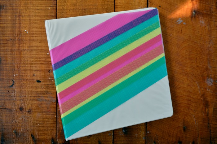 Duck Tape Binder