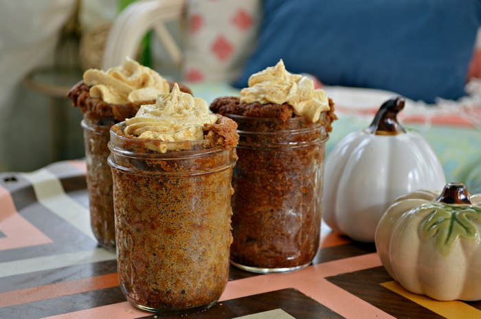MASON JAR PUMPKIN BREAD