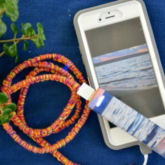 PERSONALIZED PHONE CHARGING CORD