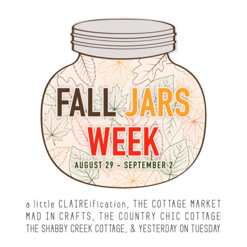 Fall Jars Week graphic