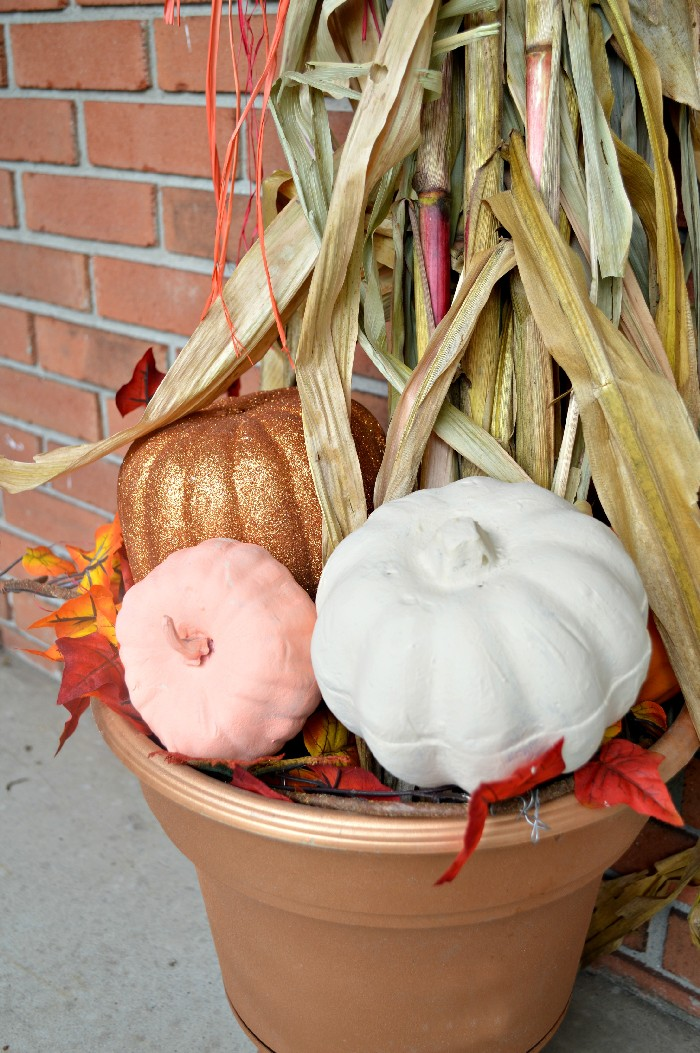 painted-foam-pumpkins