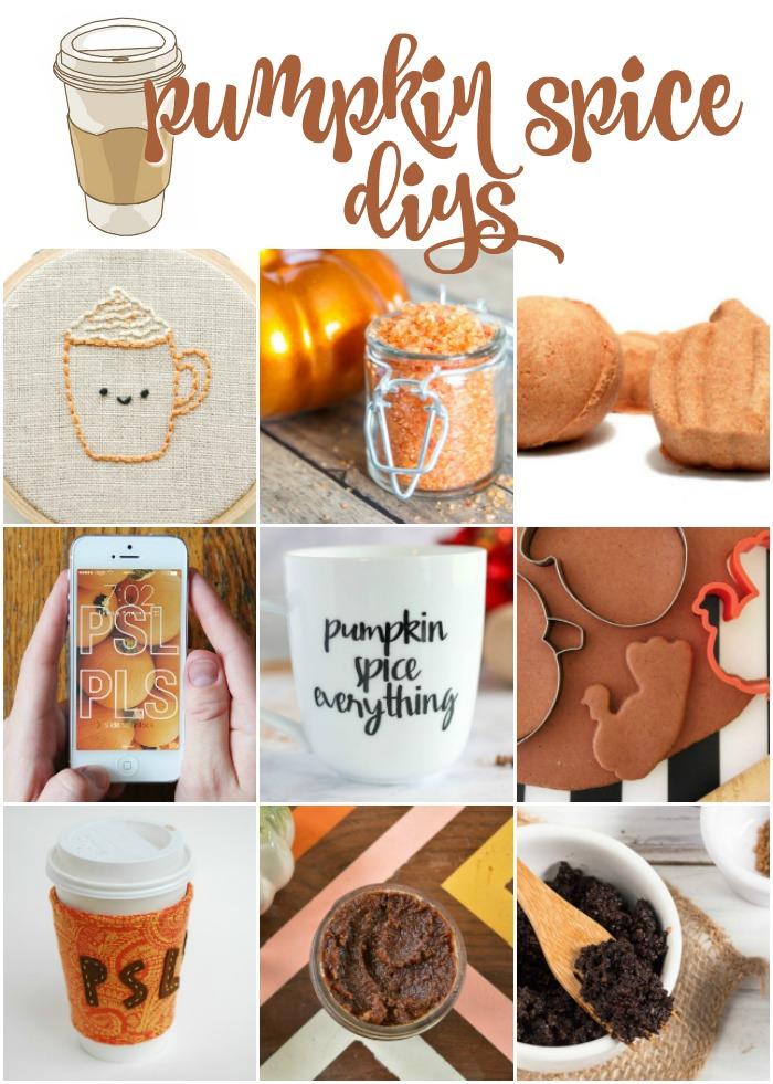 Pumpkin Spice Latte Crafts