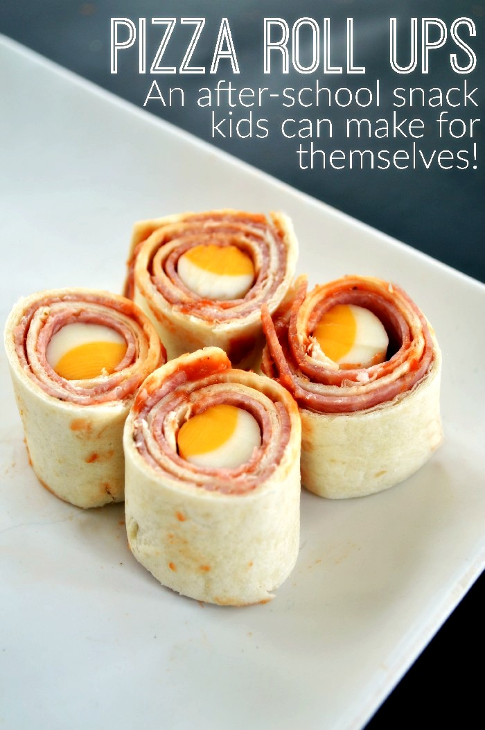 PIZZA ROLL,UPS A SNACK KIDS CAN MAKE! Snacks and Appetizers