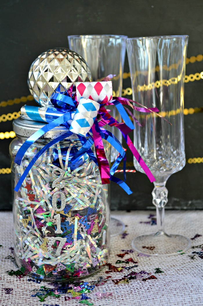 New Year S Eve In A Jar Handmade Gifts Mad In Crafts