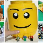 ORGANIZE YOUR LEGOS WITH ONE TRIP TO THE DOLLAR STORE