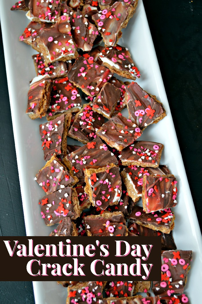 Valentine's Day Crack Candy Recipe