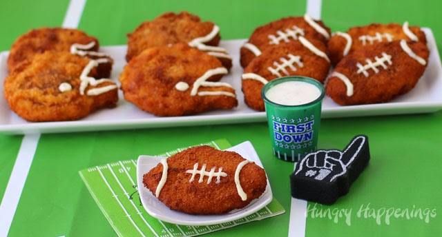 football-and-helmet-shaped-chicken-nuggets-