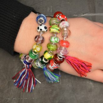 TWO MINUTE BEAD AND TASSEL BRACELETS