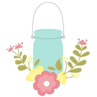 SPRING MASON JAR PRINTABLES