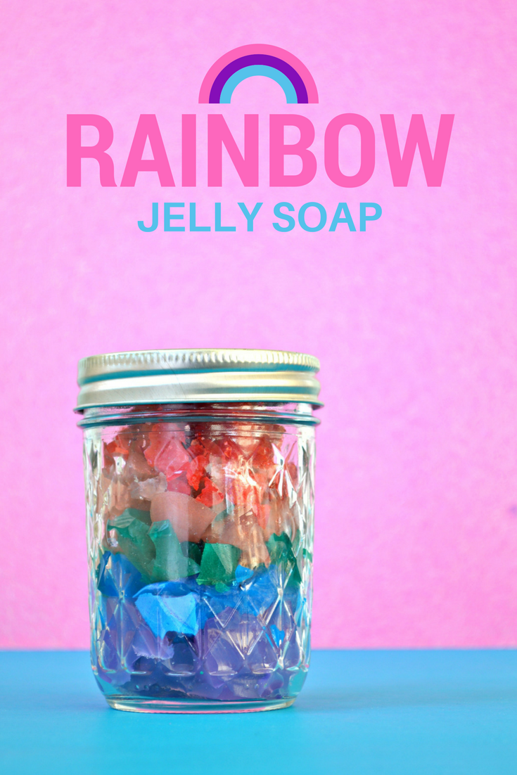 RAINBOW JELLY SOAP