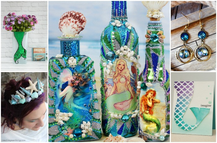 12 DIY TUTORIALS FOR YOUR INNER MERMAID