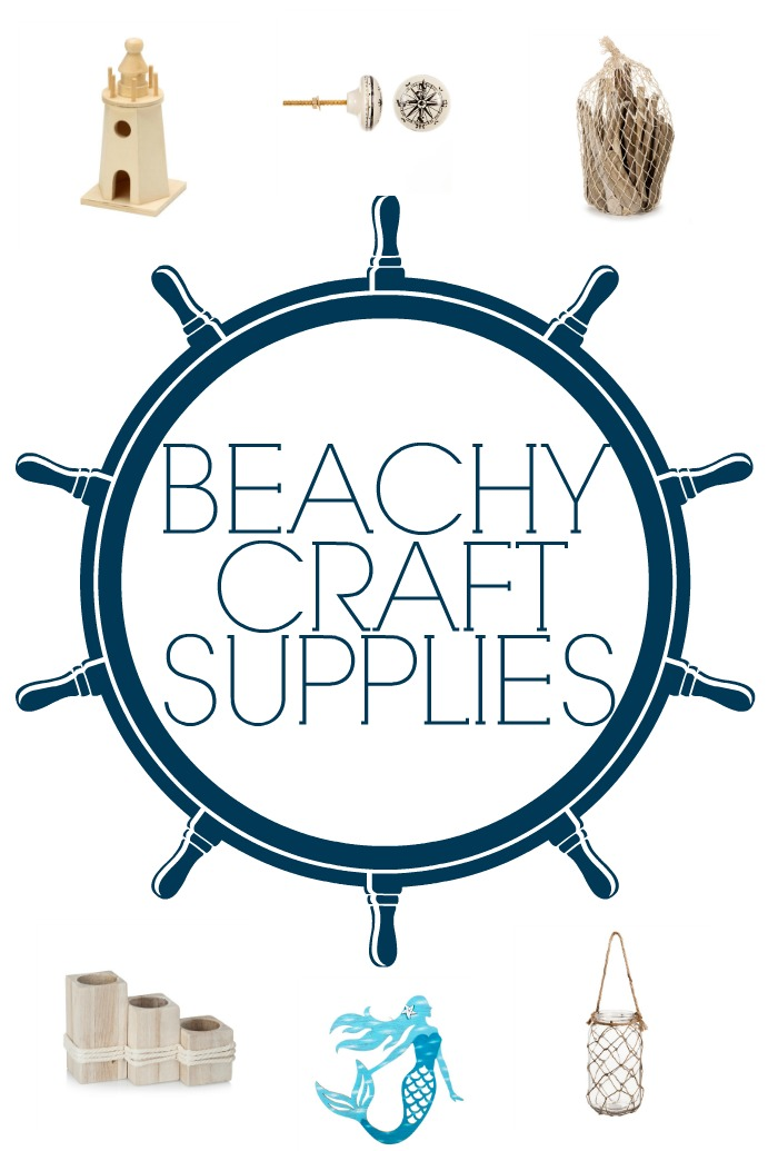 BEACHY CRAFT SUPPLIES TO GET YOU IN THE MOOD FOR SUMMER