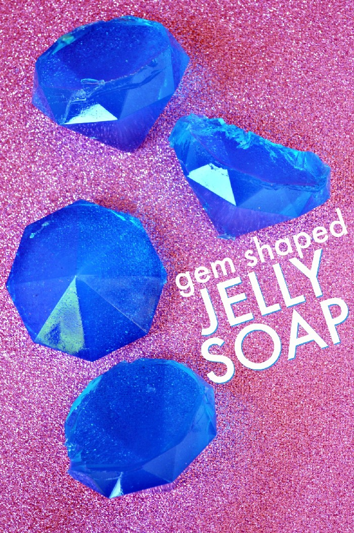 DIY GEM SHAPED JELLY SOAPS