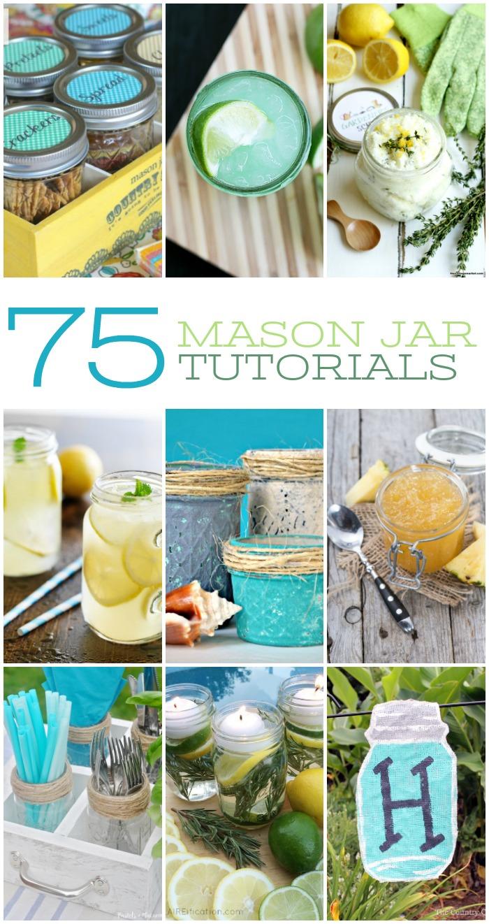 75 SUMMER MASON JAR DIYS