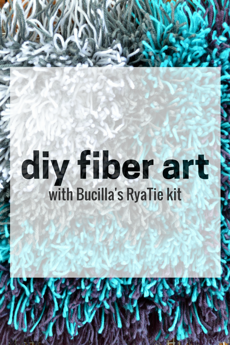 DIY FIBER ART WITH THE BUCILLA RYATIE KIT