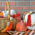 CORRUGATED METAL PUMPKIN – FALL FARMHOUSE DECOR